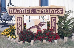 Barrel Springs Hunt Club